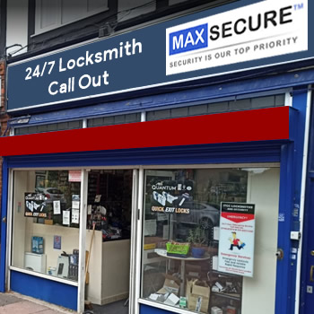Locksmith store in South Kensington